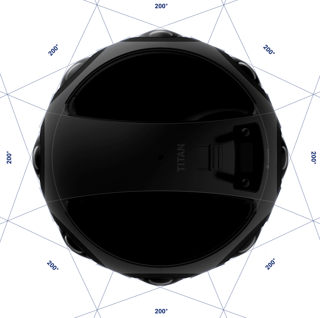 Insta360 Titan VR Micro Four Thirds Sensors