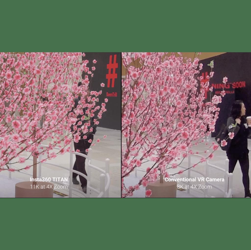 Insta360 Titan 11K VR Resolution